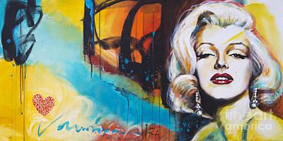 I Love Marilyn Original by Ira Ivanova