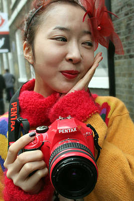 Photograph - I Love My Little Red Camera by Stephen Norris