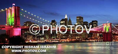 I Love New York -  Limited Edition Art Print by Hisham Ibrahim