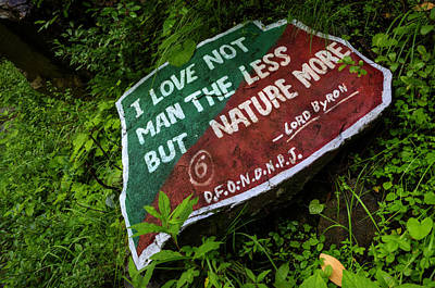 Photograph - I Love Not Man The Less...but Nature More by Rohit Chawla