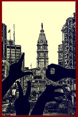 I Love Philly Art Print by Bill Cannon