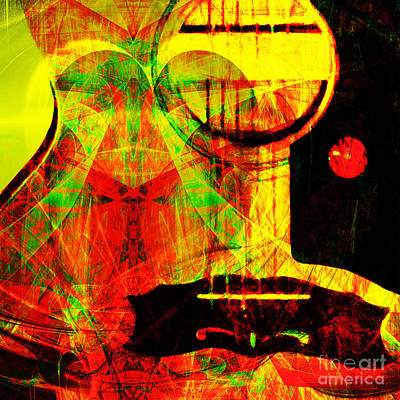 I Love Rock And Roll 20140716 Art Print by Wingsdomain Art and Photography