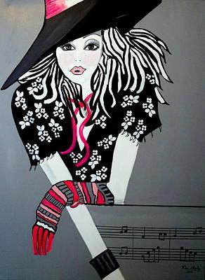 I Love Rock And Roll Art Print