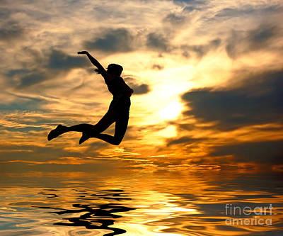 Feelings Photograph - I Love The World by Michal Bednarek