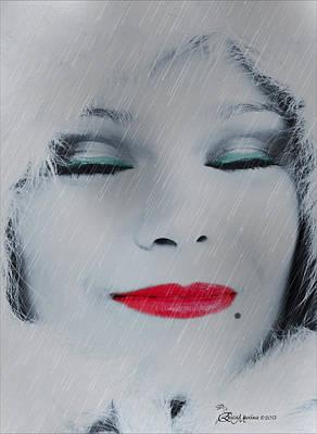 Beauty Mark Digital Art - I Love To Smell Fresh Rain by EricaMaxine  Price