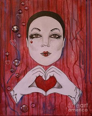 Painting - I Love You by Jane Chesnut