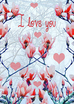 Digital Art - I Love You by Lizi Beard-Ward