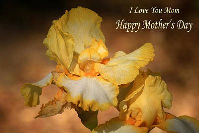 Photograph - I Love You Mom by Donna Kennedy