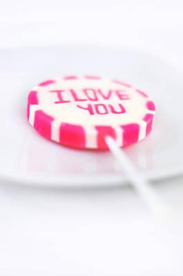 I Love You My Sweet Art Print by Gynt