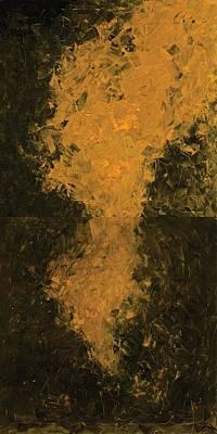 Oneself Painting - I Meet Me by Rahul Inamdar