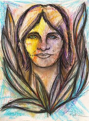 I Met My Spirit Today - Elyon Art Print