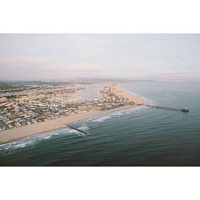 California Photograph - I ❤oc #california #vsco by Ariane Moshayedi