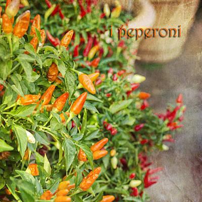 Photograph - I Peperoni by Marianne Campolongo