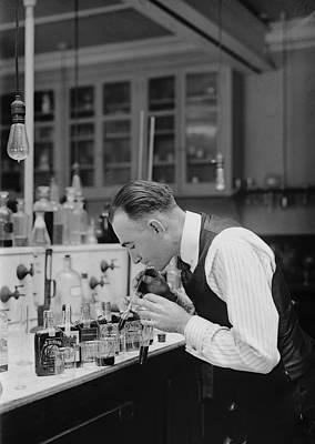I R S Prohibition Test Laboratory 1920 Art Print by Daniel Hagerman