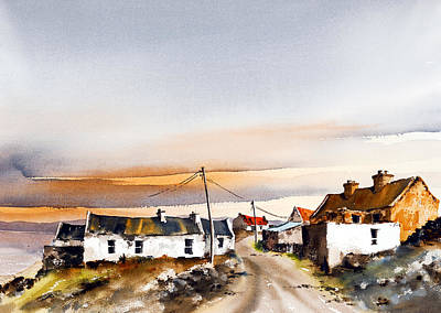 Mayo Painting - I Remember It This Way by Val Byrne
