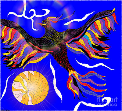 Digital Art - I Rise by Lewanda Laboy