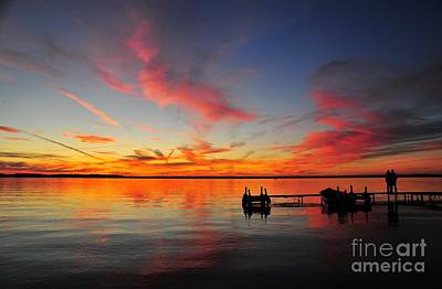 Photograph - Firecracker Sunset 2 by Terri Gostola