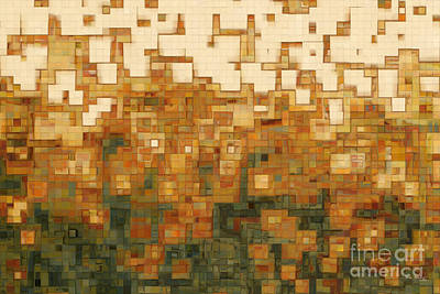 Beige Glass Painting - I Saw The Light- Great Big Art by Great Big Art