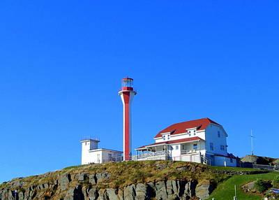 Nova Scotia Photograph - I Saw The Light by Karen Cook
