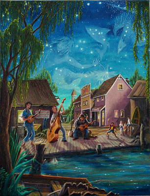 Painting - I See A Good Moon Arising by Matt Konar