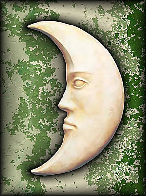 I See The Moon Digital Art - I See The Moon 3 by Wendy J St Christopher