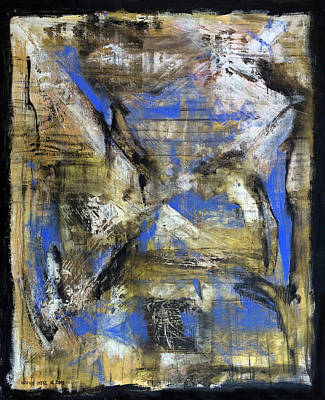 Baselitz Painting - I See What You Can't by Antonio Ortiz