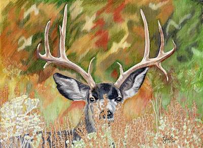 Painti Painting - I See You by Gail Seufferlein