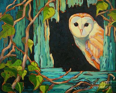 Painting - I See You by Janet McDonald