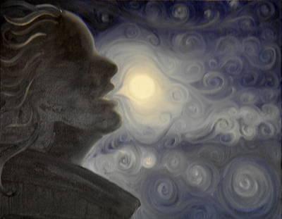 I Shall Eat The Moon Art Print