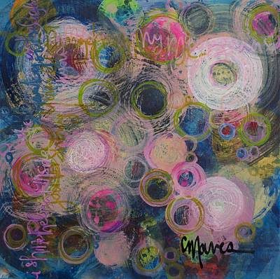 Painting - I Shine The Light by Laurie Maves ART