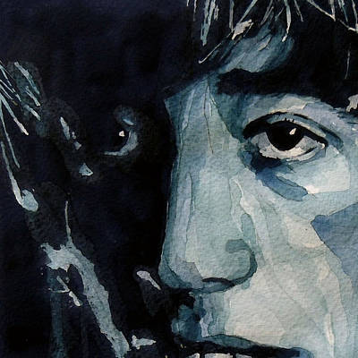 Watercolor Portraits Painting - I Started A Joke by Paul Lovering