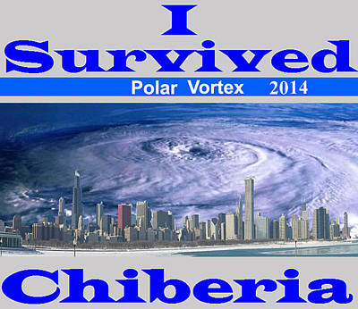 Digital Art - I Survived Chiberia  by Photo Shirts