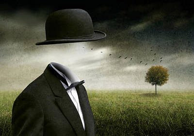 Suit Photograph - I Think, I'm A Dreamer by Ben Goossens
