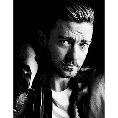 Music Wall Art - Photograph - JT by Justin Timberlake