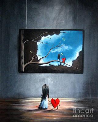 Pop Surrealism Painting - I Think We're Being Followed By Shawna Erback by Shawna Erback