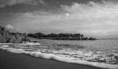 Photograph - I Touch The Waves by Ian Mitchell