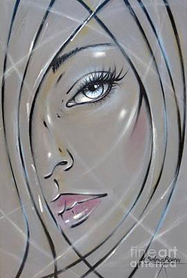 Painting - I Want The Truth 310811 by Selena Boron