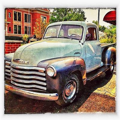 Truck Photograph - I Want This #truck !!!💙 I Would Love by Erica Milligan