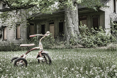 Photograph - I Want To Ride My Tricycle by John Crothers