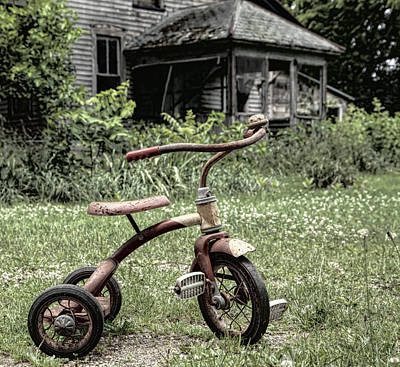 Photograph - I Want To Ride My Trike by John Crothers