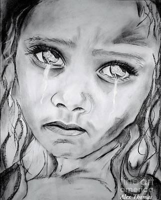 I Watch In Pain Art Print