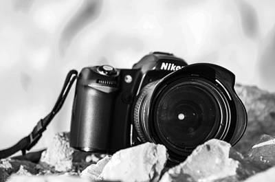 Photograph - I'll Have A Nikon On The Rocks by Alan Marlowe