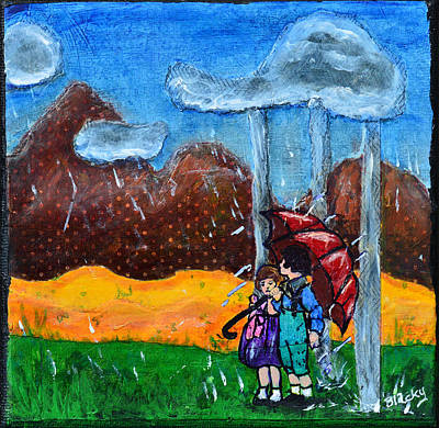 Painting - I Will Protect You by Donna Blackhall