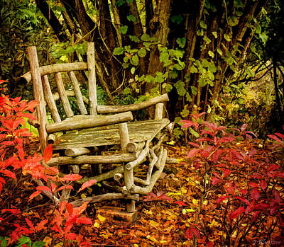 Changing Of The Seasons Photograph - I Will Remember You by Jordan Blackstone