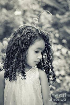 Portraits Royalty-Free and Rights-Managed Images - I Wonder... by Evelina Kremsdorf