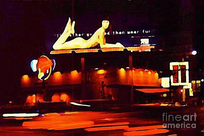 I Would Rather Go Naked Than Wear Fur Billboard Art Print by Johnn Malone