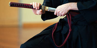 Photograph - Iaido _ 9 by Tim Nichols