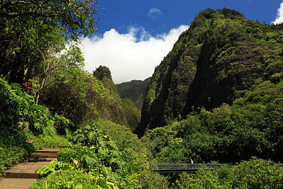 Photograph - Iao Needle - Iao Valley by James Eddy