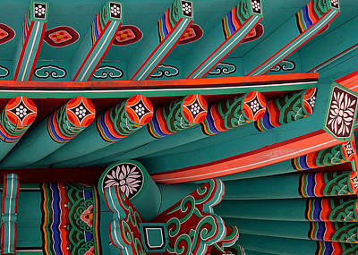 Photograph - Iao Needle Roof Detail by Michael Kirk