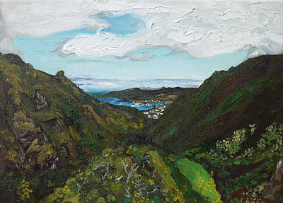 Wailuku Painting - Iao Valley by Joseph Demaree
